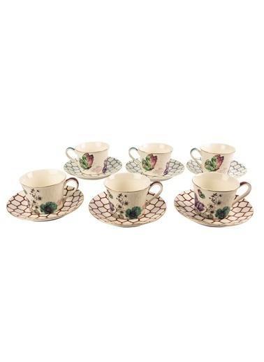 Mikasa Moor Lily 6Lı Çay Seti Renkli